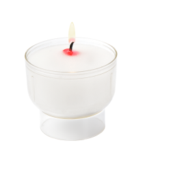 VEILLEUSES VOTIVES BLANCHES...